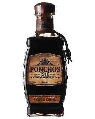 Ponchos 1910 Coffee Tequila 750mL case of 6 Flavoured