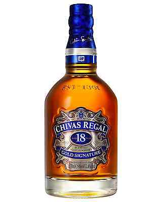 Chivas Regal 18 Year Old Scotch Whisky 700mL case of 6 Blended Whisky