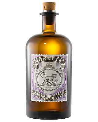 Monkey 47 Schwarzwald Dry Gin 500mL bottle
