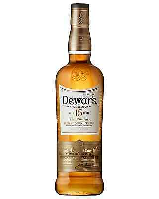 Dewar's The Monarch 15 Year Old Scotch Whisky 750mL case of 6 Blended Malt