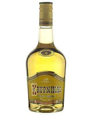 Krupnikas Honey Liqueur 500mL case of 12 Honey Liqueurs