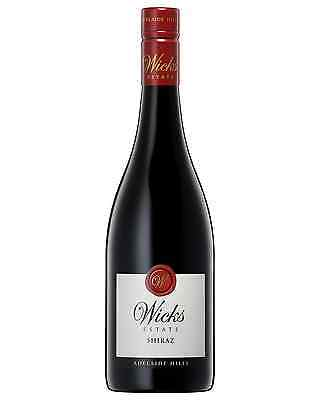 Wicks Estate Shiraz bottle Dry Red Wine 750mL Adelaide Hills