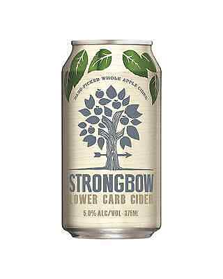 Strongbow Lower Carb Apple Cider Cans 10 Pack 375mL pack of 10