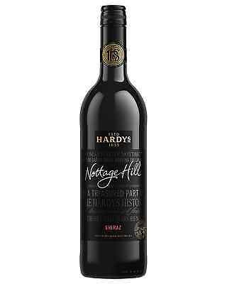 Hardys Nottage Hill Shiraz case of 6 Dry Red Wine 750mL