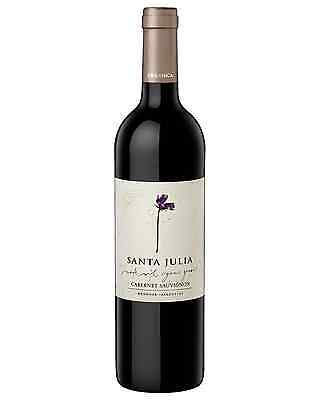 Santa Julia Organica Cabernet Sauvignon case of 6 Dry Red Wine 750mL Mendoza