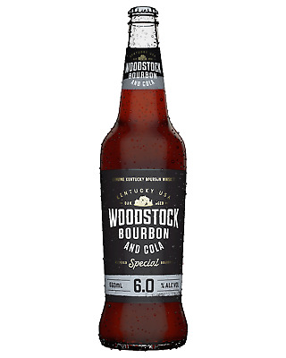 Woodstock Bourbon & Cola 6% 660mL bottle American Whiskey