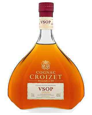 Cognac Croizet VSOP Gold Cognac 700mL case of 6 Brandy