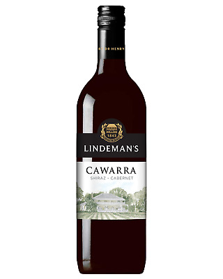 Lindeman's Cawarra Shiraz Cabernet case of 6 Dry Red Wine 750mL