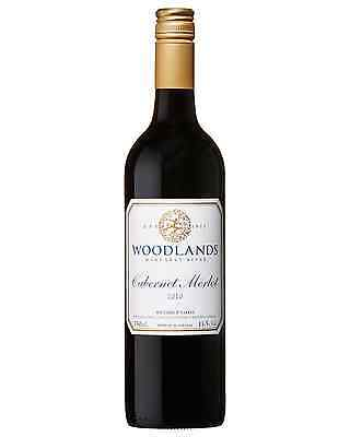 Woodlands Cabernet Merlot 2010 case of 6 Dry Red Wine 750mL Margaret River