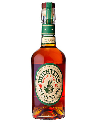 Michter's US 1 Straight Rye Whiskey 700mL case of 6 American Whiskey