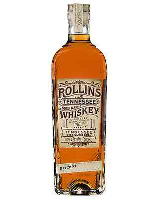 Rollins Tennessee Whiskey 700mL case of 6 American Whiskey