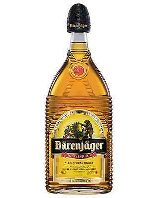Barenjager Honey Liqueur 700mL Bärenjäger case of 6 Honey Liqueurs