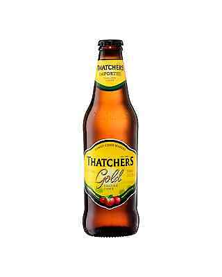 Thatchers Gold English Apple Cider 330mL case of 24