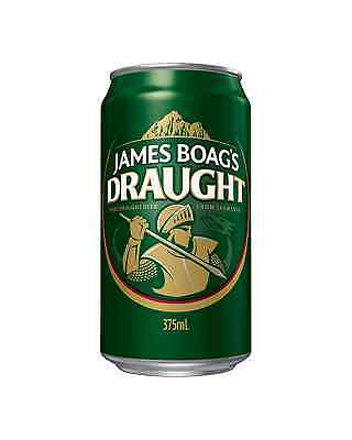 James Boag's Draught Cans 30 Block 375mL case of 30 Australian Beer Lager
