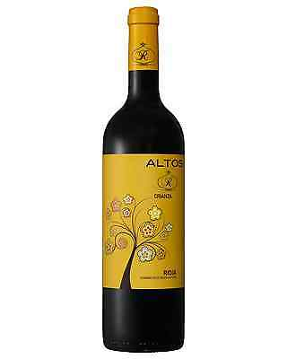 Altos R Crianza Rioja case of 6 Tempranillo Dry Red Wine 750mL