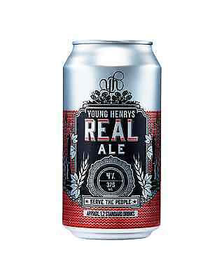 Young Henrys Real Ale Cans 375mL case of 24 Craft Beer Red Ale