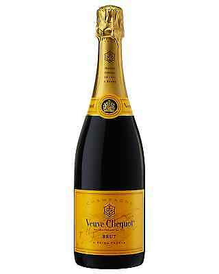Veuve Clicquot Brut Yellow Label case of 6 Pinot Noir Chardonnay Pinot Meunier
