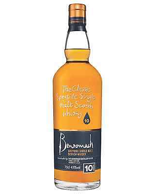 Benromach 10 Year Old Scotch Whisky 700mL bottle Single Malt Speyside