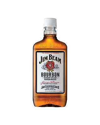 Jim Beam White Label Bourbon 375mL bottle American Whiskey