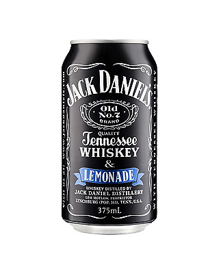 Jack Daniel's Tennessee Whiskey & Lemonade Cans 375mL case of 24