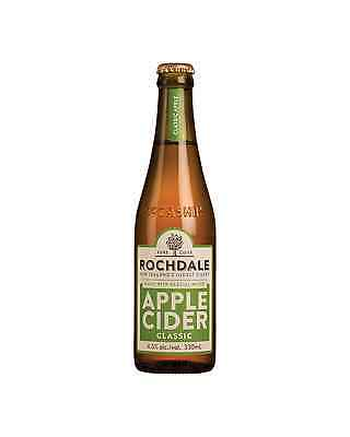 Rochdale Classic Apple Cider 330mL case of 24