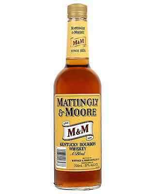 Mattingly & Moore Bourbon 700mL bottle American Whiskey