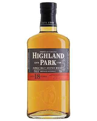 Highland Park 18 Year Old Scotch Whisky 700mL bottle Single Malt