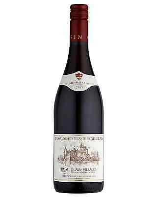 Château de Montmelas Beaujolais-Villages case of 6 Gamay Dry Red Wine 2014*