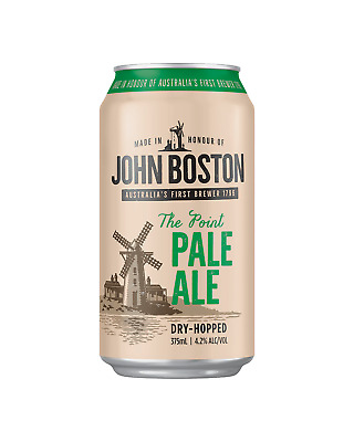 John Boston The Point Pale Ale Cans 10 Pack 375mL case of 30 Craft Beer