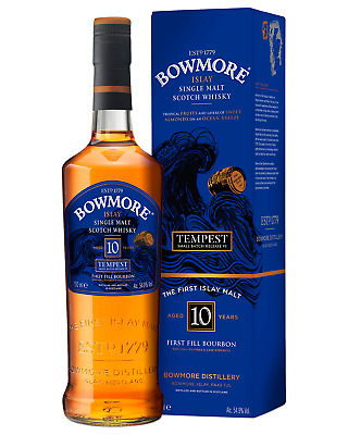 Bowmore Tempest Single Malt Scotch Whisky 700mL bottle Islay