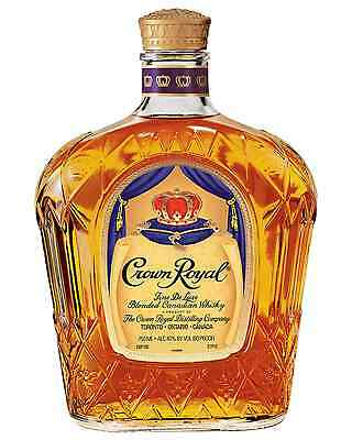Crown Royal De Luxe Canadian Whisky 750mL case of 6 Blended Whisky