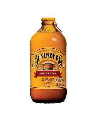 Bundaberg Ginger Beer 375mL case of 24 Soft Drinks