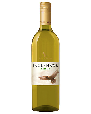 Wolf Blass Eaglehawk Riesling case of 6 Dry White Wine 750mL
