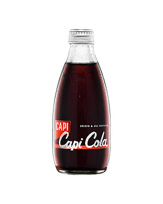 CAPI Natural Spiced Cola 250mL case of 24 Soft Drink