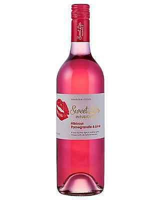 Sweet Lips Hibiscus Pomegranate & Lime case of 6 Moscato Wine 750mL