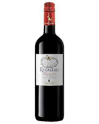 Tasca Regaleali Nero d'Avola case of 6 Dry Red Wine 750mL