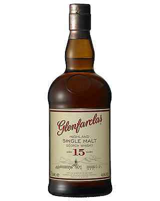 Glenfarclas 15 Year Old Scotch Whisky 700mL bottle Single Malt Speyside
