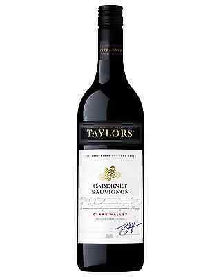 Taylors Estate Cabernet Sauvignon case of 6 Dry Red Wine 750mL Clare Valley