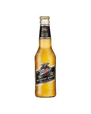 Miller Genuine Draft 330mL case of 24 International Beer Lager