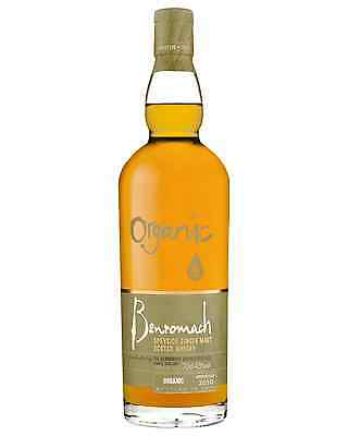 Benromach Organic Scotch Whisky 700mL case of 6 Single Malt Speyside