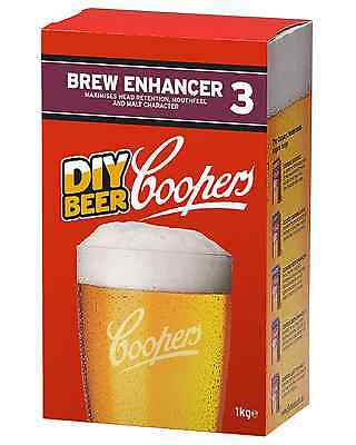 Coopers Brew Enhancer No.3 1kg pack Bar Accessories