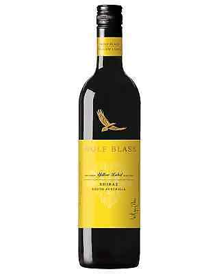 Wolf Blass Yellow Label Shiraz case of 6 Dry Red Wine 750mL