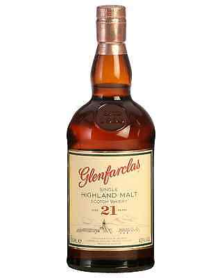 Glenfarclas 21 Year Old Scotch Whisky 700mL case of 6 Single Malt Speyside
