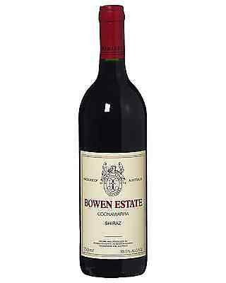 Bowen Estate Shiraz bottle Dry Red Wine 750mL Coonawarra