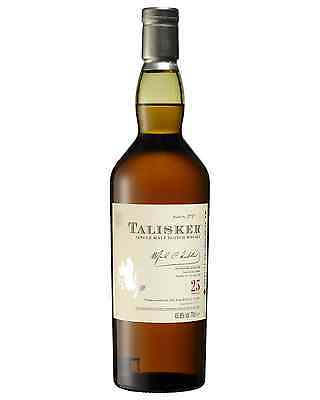 Talisker 25 Year Old Scotch Whisky 700mL bottle Single Malt Highland