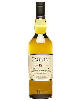 Caol Ila 12 Year Old Scotch Whisky 700mL bottle Single Malt Islay