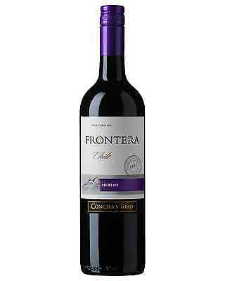 Frontera Merlot bottle Dry Red Wine 750mL