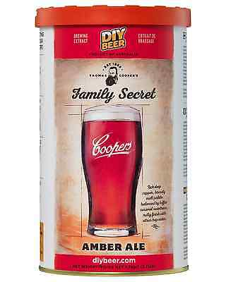 Coopers Thomas Cooper's Family Secret Amber Ale 1.7kg pack Bar Accessories