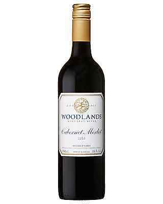 Woodlands Cabernet Merlot 2010 bottle Dry Red Wine 750mL Margaret River