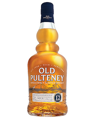 Old Pulteney 12 Year Old Scotch Whisky 700mL bottle Single Malt Highland